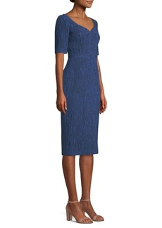 Jason Wu Stretch Cloque Jacquard Dress