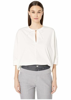 Jason Wu Stretch Cotton Poplin Blouse