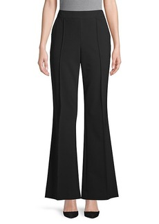Jason Wu Stretch-Scuba Jersey Bootcut Pants