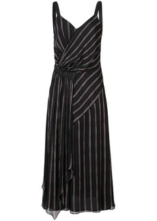 Jason Wu striped flared midi dress