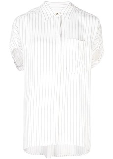 Jason Wu striped short-sleeve shirt