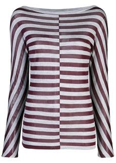 Jason Wu striped sweatshirt
