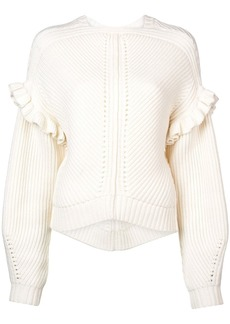 Jason Wu structured knit sweater