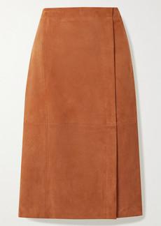 Jason Wu Suede Midi Skirt