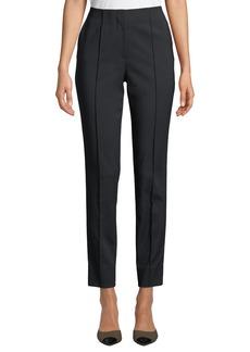 Jason Wu Techno Cotton Straight-Leg Trouser Pants