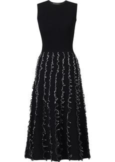 Jason Wu tulle-detailing knitted midi dress