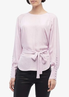 Jason Wu Twill Wrap Blouse