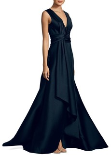 Jason Wu V-Neck Knotted Gown