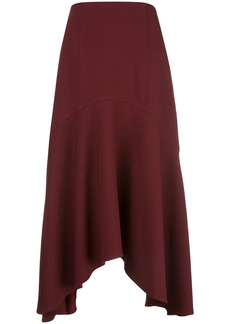 Jason Wu waterfall hem midi skirt
