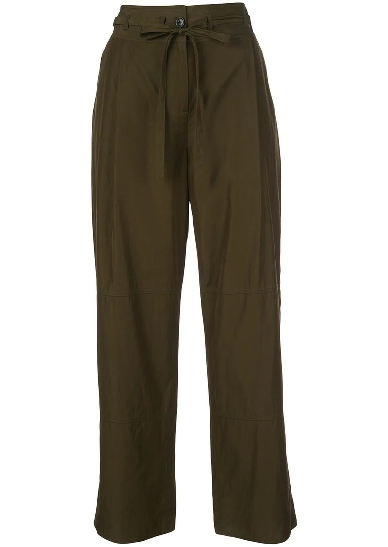 Jason Wu wide-leg panelled trousers