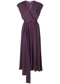 Jason Wu wrap front midi dress
