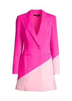 Jay Godfrey Ace Bright Blazer Dress