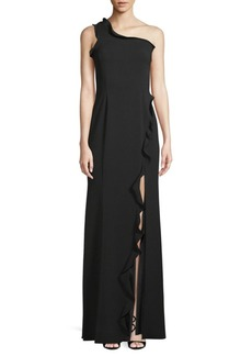 Jay Godfrey Alma One-Shoulder Gown