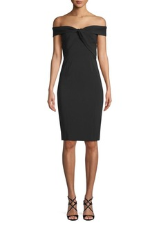 Jay Godfrey Argon Sheath Dress