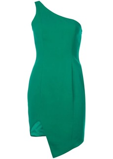 Jay Godfrey asymmetric one shoulder dress