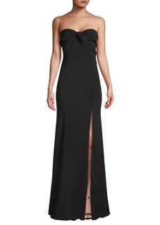 Jay Godfrey Cambridge Front-Twist Gown