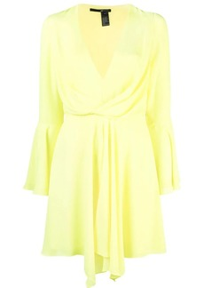 Jay Godfrey draped V-neck dress