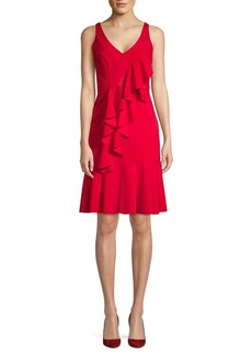 Jay Godfrey Flounced Sheath Dress