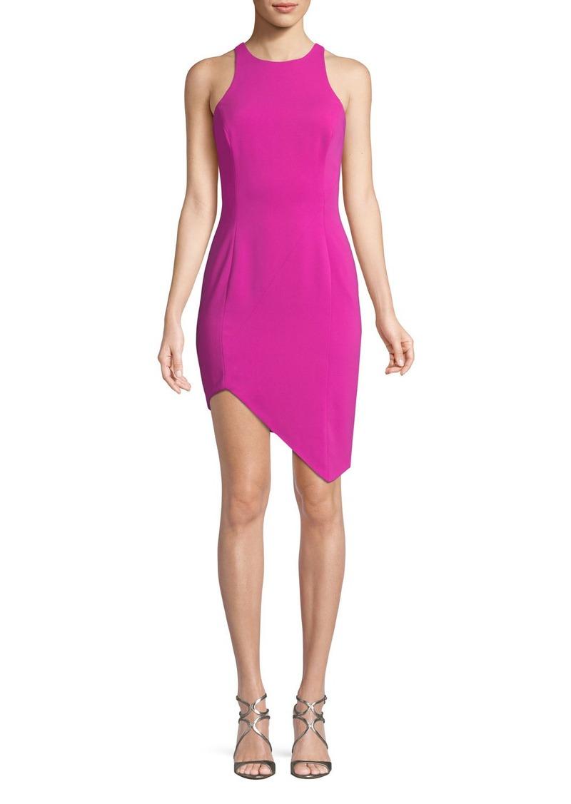 Jay Godfrey Gallagher Asymmetric Mini Cocktail Dress