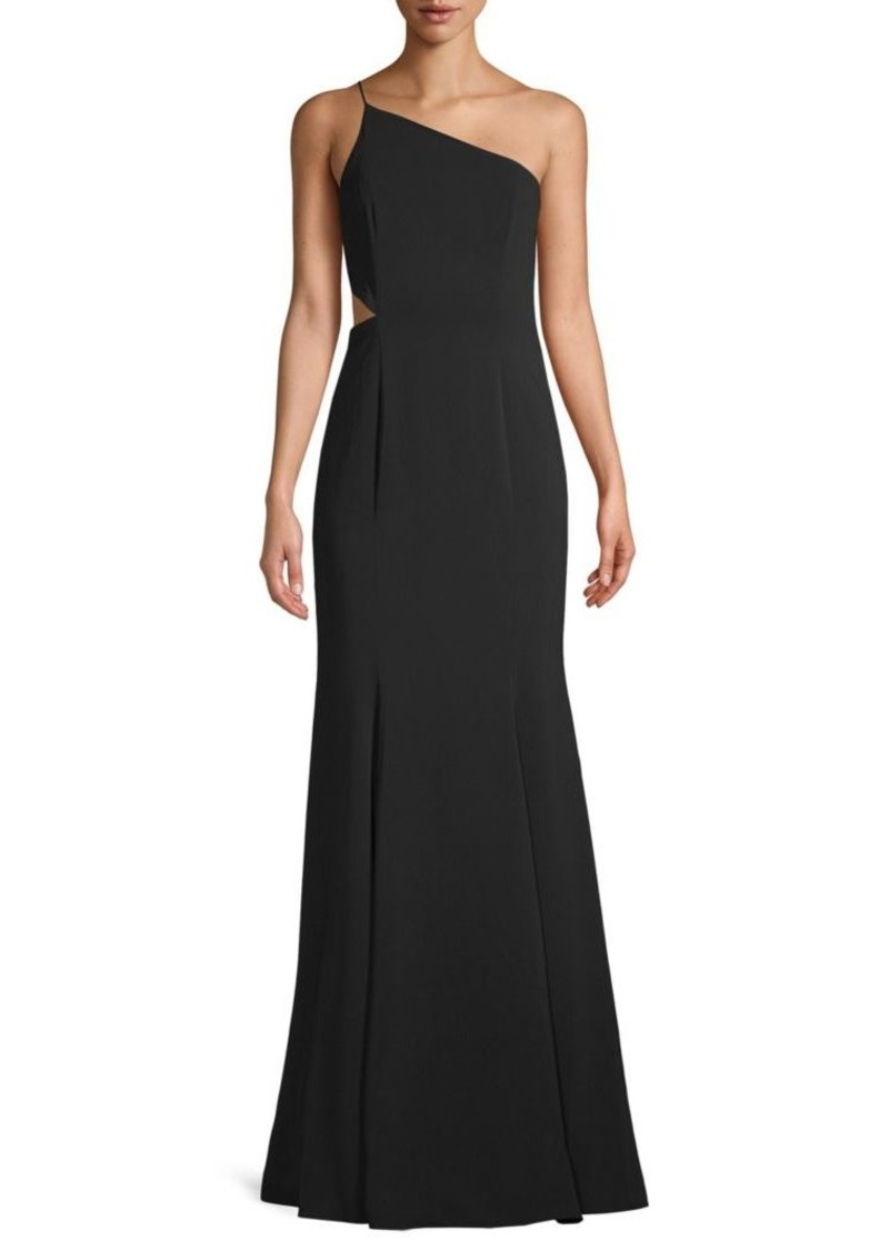 a671e4f07 Jay Godfrey Greyson One-Shoulder Cutout Gown