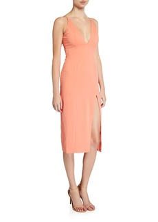 Jay Godfrey Gwendoline Halter Dress