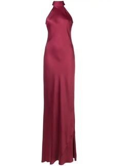 Jay Godfrey halterneck evening dress