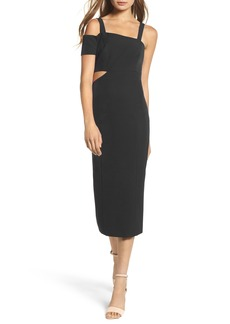 Jay by Jay Godfrey Marquette Cutout Sheath Dress