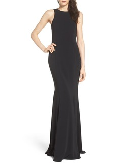 Jay Godfrey Armstrong Cowl Back Gown