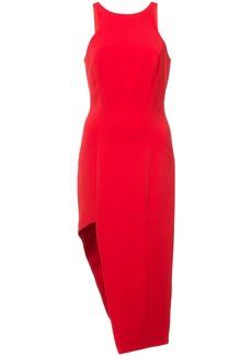 Jay Godfrey asymmetric dress - Red