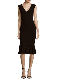 Jay Godfrey Burke Knit Knee-Length Dress
