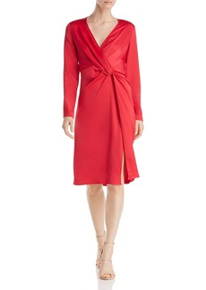 Jay Godfrey Coats Twist-Front Dress