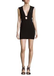 Jay Godfrey Deep V-Neck Dress