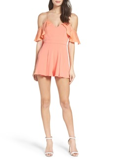 Jay Godfrey Felix Cold Shoulder Romper