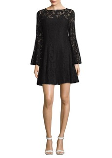 Jay Godfrey Floral Lace Mini Dress