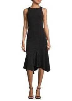Jay Godfrey Frilled Hem Knee-Length Dress