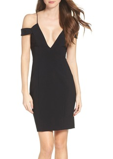 Jay Godfrey Hoy Cold Shoulder Dress