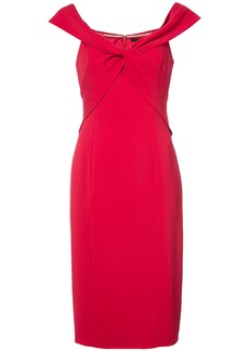 Jay Godfrey knotted dress - Red