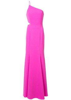 Jay Godfrey long one-shoulder gown