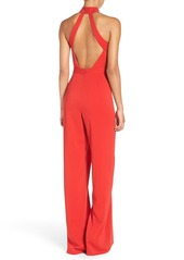 Jay Godfrey 'Manila' Mock Neck Jumpsuit