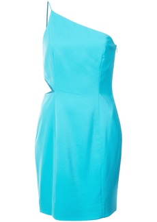 Jay Godfrey one shoulder cutout dress - Blue
