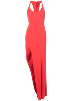 Jay Godfrey side slit gown - Red
