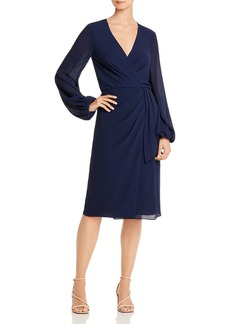 Jay Godfrey Sirio Wrap-Front Dress