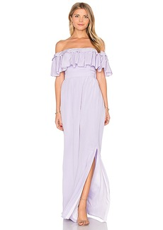 Jay Godfrey Stavro Maxi Dress in Lavender. - size 2 (also in 0,6)