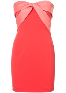 Jay Godfrey strapless fitted mini dress - Red
