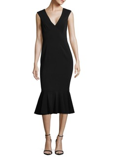 Jay Godfrey Vaughn V-Neck Dress