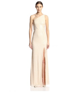 Jay Godfrey Women's Barker One Shoulder Sequin Gown