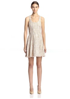 Jay Godfrey Women's Diaz Fit & Flare Tweed Dress