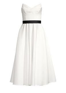 Jay Godfrey Keele Strapless Dress