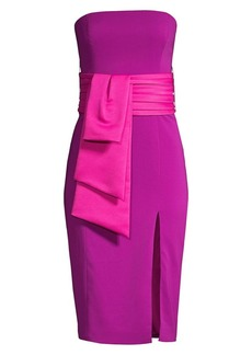 Jay Godfrey Kia Strapless Sheath Dress