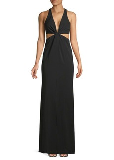 Jay Godfrey Laval Twist-Front Gown